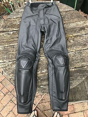 Dainese motorcycle leather trousers ladies