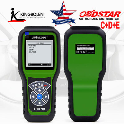 OBDSTAR X100 Pros C+D+E X300 M Update Version IMMOBILISER+Od0meter Adjustment