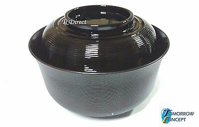Japanese Style Plastic Soup Noodle Ramen Udon Bowl with Cover 16cm (A12)