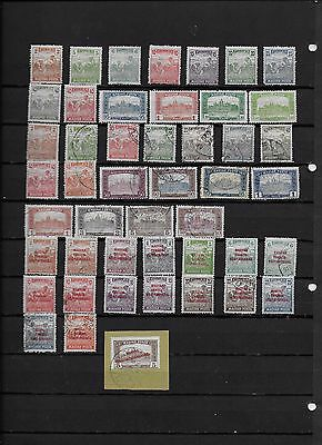 Hungary 1919 Harvester and Parliament SS MH & Used + Republic Opts SS MH & Used