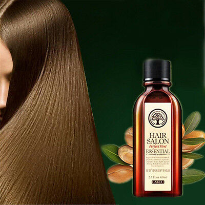 60ml Argan Oil Hair Care Nourish Scalp Treatment Smooth Damaged Dry Repair Hair