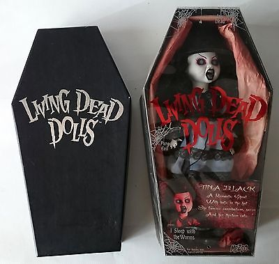 Living Dead Dolls - Tina Black - Used In Box And Complete - Mezco Series 10
