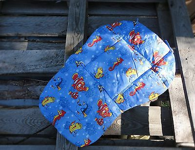 Reversible Pram Stroller Buggy Seat Liner Cover Pad Cushion