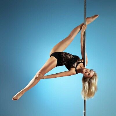 Profi Tanzstange 50mm GoGo Pole Dance Tabledance Tanz Rohr static