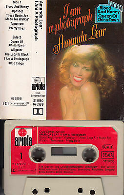 AMANDA LEAR - I Am A Photograph ★ MC Musikkassette