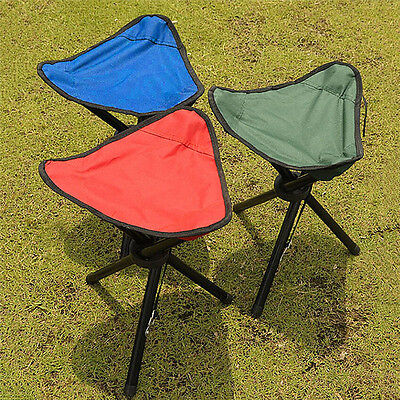 Ultralight Portable Folding Tripod Stool Outdoor Camping Pinic Fishing Chairs