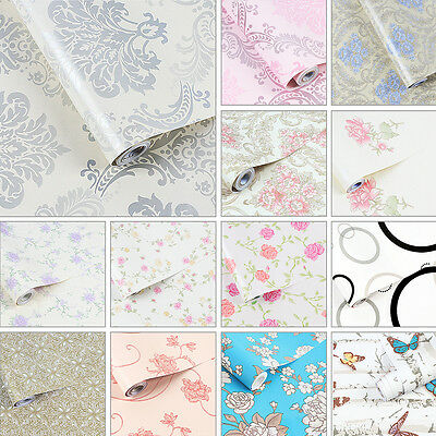 Self Adhesive Wallpaper Removable Contact Paper Wall Cupboard Cover Drawer Liner