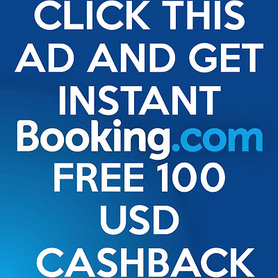 FREE BOOKING.COM 100 $€£OFF VOUCHER COUPON PROMOTION CREDIT DISCOUNT CODE airbnb