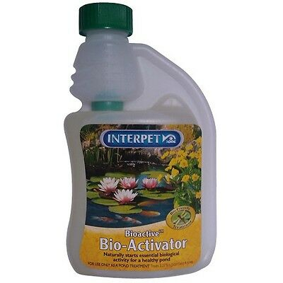Blagdon BIOACTIVE BIO-ACTIVATOR 250ml Treats 910-Litres Per 25ml *UK Brand