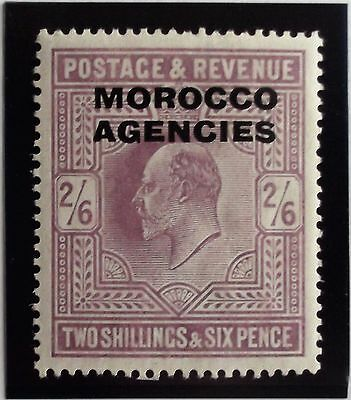 (D222) British Issue 1907 SG38 2/6 (1)  MH.