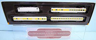 MARKLIN 'Z' GAUGE 81424 SWISS 'ADtranz' MEASUREMENT TRAIN SET BOXED #108W