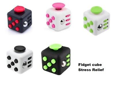 New Fidget Cube Stress Anxiety Relief With Packaging Adult Children Desk Toy