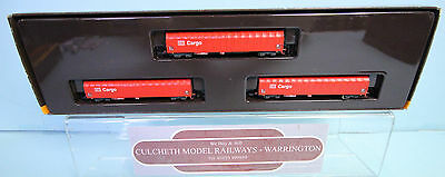 Marklin Mini-Club 'z' Gauge 82420 'db Schenker Cargo 3 Car Wagon Set Boxed #107W