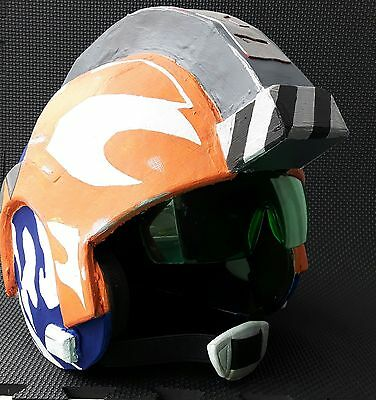Star Wars X-Wing Pilot's Helmet. Ahsoka Tano Mash-Up. Cosplay or Display.