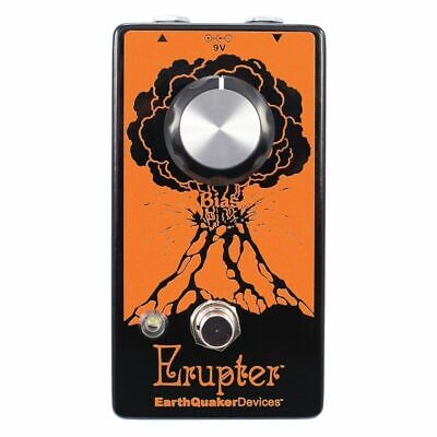 EarthQuaker Devices Erupter Perfect Fuzz Guitar Effects Pedall