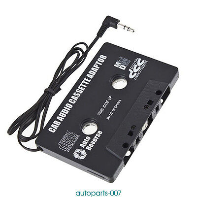 Fr Car Casette Tape 3.5mm AUX Audio Adapter MP3 Player CD Tape Converter as07