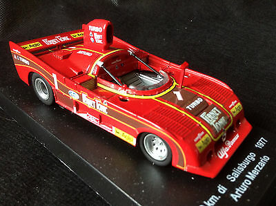 Atlas Editions Alfa Romeo 33 SC12 (1977) 1:43 Diecast Model Mint
