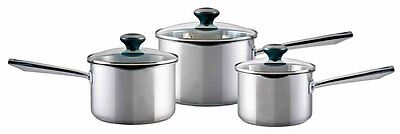 Meyer Select Classic Stainless Steel 3 Piece Cookware Set