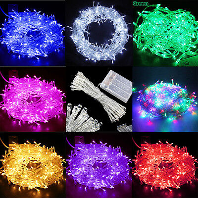 20/30/40/50/100LED STRING FAIRY PARTY XMAS CHRISTMAS WEDDINGLIGHT Indoor Outdoor