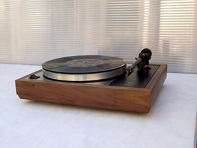 LINN SONDEK LP12  WALNUT wood PLINTH / CUSTOM WALNUT WOOD PLINTH FOR LINN LP 12