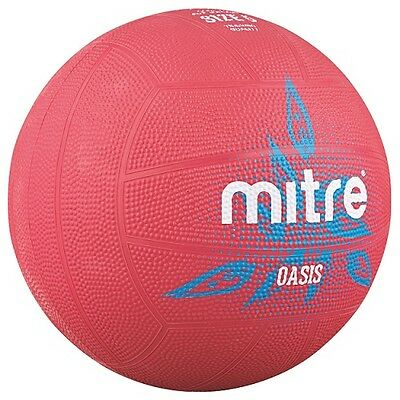 Mitre Mini Oasis Netball - Size 1 - Pink