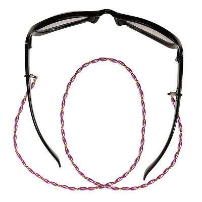 Reading Glasses Spectacles Sunglasses Holder Neck Cord Bead Strap Chain New