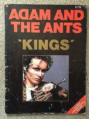 Adam & The Ants Kings Of The Wild Frontier Music And Lyrics Songbook 1980