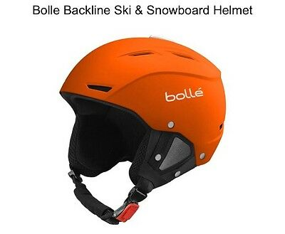 Bolle Backline Ski & Snowboard Helmet Soft Orange 56-58 cm