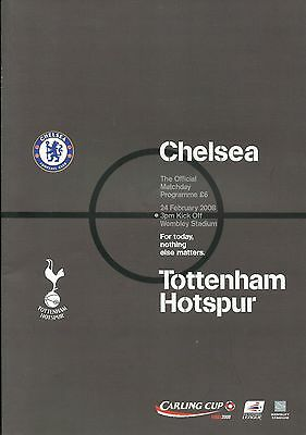 Chelsea v Tottenham Hotspur - League Cup Final - 24 February 2008