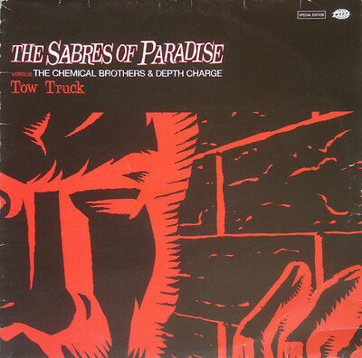 """The Sabres Of Paradise Chemical Brothers & Depth Charge – Tow Truck 12"""" Vinyl"""