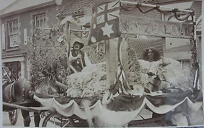 Carnival Float At Attleborough Norfolk Early Rp Pc