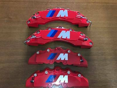 BMW M Style Disc Brake Caliper Covers Universal RED