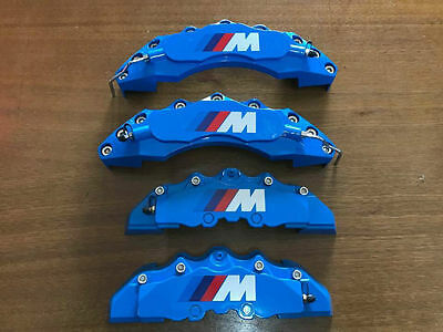 BMW M Style Disc Brake Caliper Covers Universal BLUE