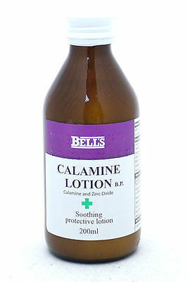 3 X Bell's Calamine Lotion BP Sunburn Relief & Other Skin Conditions 300 ml each