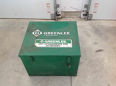 Greenlee, 23818 1723 Steel Storage Box For Shoe Units 555 Electric Bender