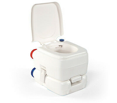 Fiamma Bi-Pot 34 Portable Camping Chemical Toilet Suitable for Camping & Caravan