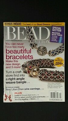 Beadshine Bead & Button Magazine October 2008 Crochet Knots Right Angle Weave