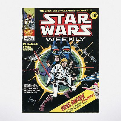 STAR WARS WEEKLY - No. 1 ( UK / 1978 ) ***VERY GOOD CONDITION***