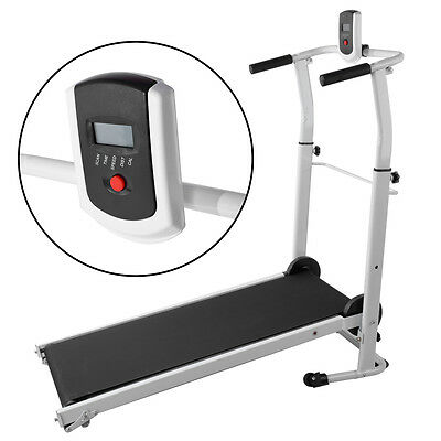 2017 Folding Mini Mechanical Fitness Running Machine Treadmill Exercise Incline