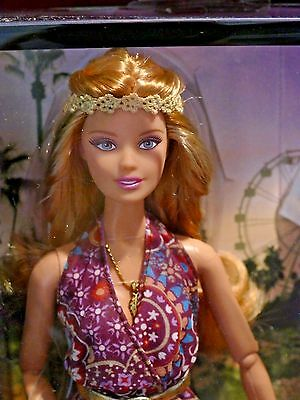 Hippie,mod, Woodstock, The Look Barbie Music Festival 2015 Fully Articulate Mint