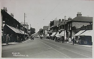 Motors Foot Traffic & Shopfronts High Street Hounslow Middlesex Early Rp Pc