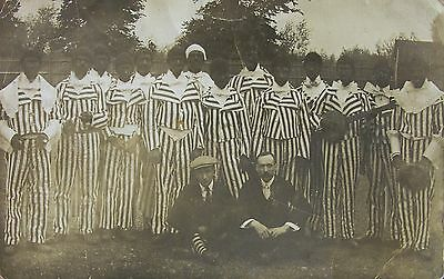 Blacking Up At Shepperton Middlesex 1909 Rp Pc