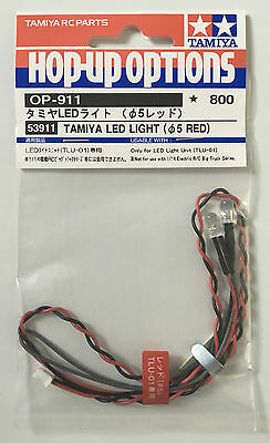 Tamiya 53911 LED Light (5mm Red) (TLU-01) NIP