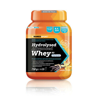 Named sport HYDROLYZED advanced WHEY