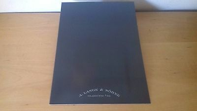 Used - Information Press A. LANGE & SÖHNE - Watches - 2006 - CD - ROM -