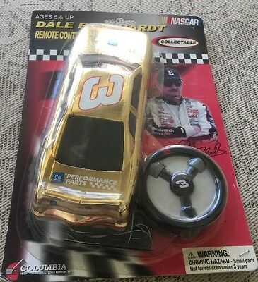 2002 #3 Dale Earnhardt Remote Control Gold Goodwrench Car Nascar,Collectable