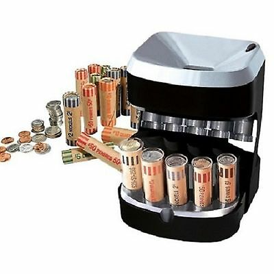 Coin Sorter Money Counter Machine Change Count Sort Stack Wrapper Coins