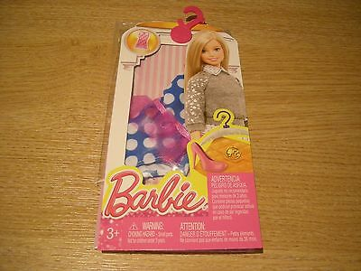 Mattel Barbie Clothes Outfits Accessories Pack Cfx73 Dhk05 Swimsuit - Bnip