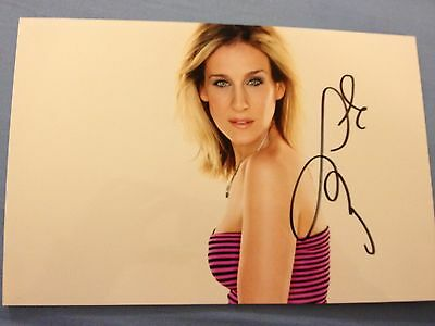 Sarah Jessica Parker original autograph (In Person) Sex and The City
