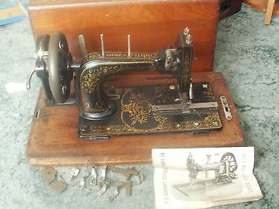 antique sewing machine frister and rossmann